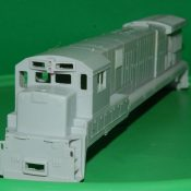 HO C30-7a and C36-7 Locomotive Shells