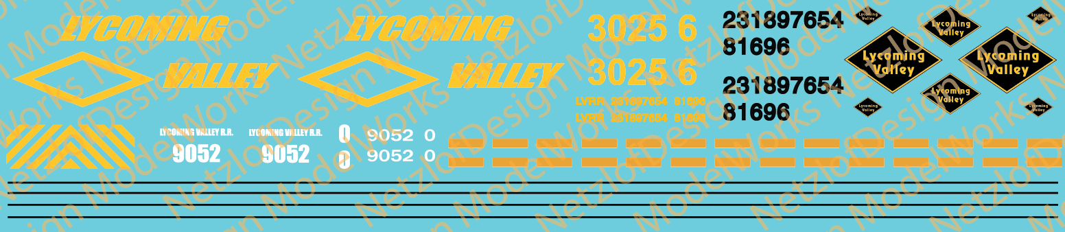 Lycoming Valley Decals