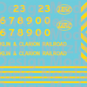 LEF&C Locomotive Decals Released