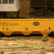 LEF&C Covered Hopper Decal Set Available
