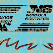 Norfolk Southern AC44C6M #4002/4003