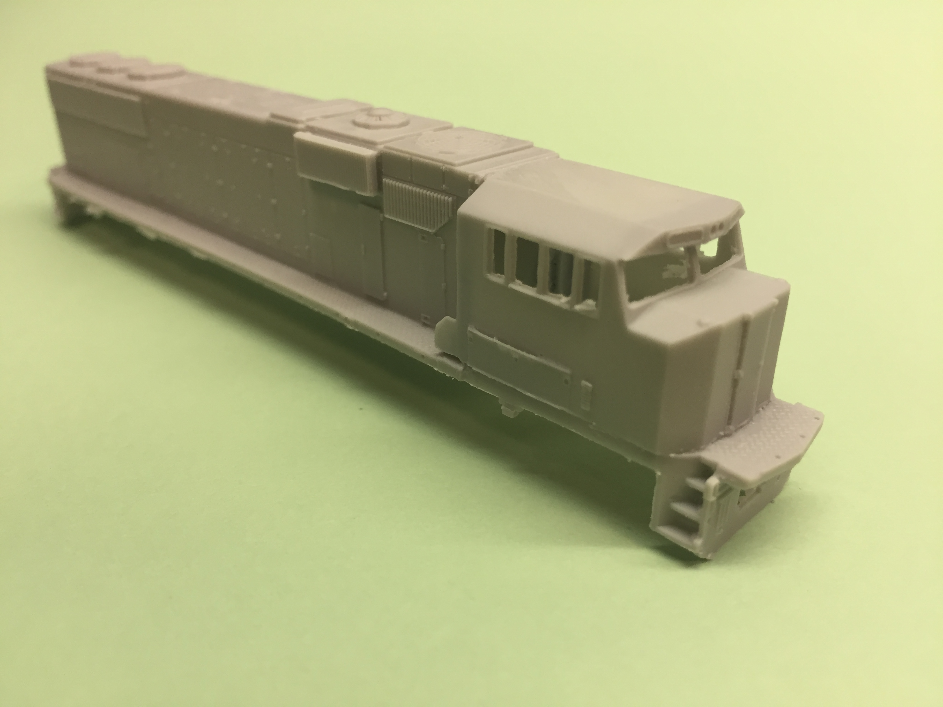 N Scale SD60E Locomotive Shell