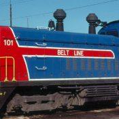 Norfolk and Portsmouth Belt Line Railroad Bicentennial #101 SW1200 Decal Set