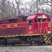 Norfolk and Portsmouth Belt Line Railroad GP38-2 #5260 Decal Set
