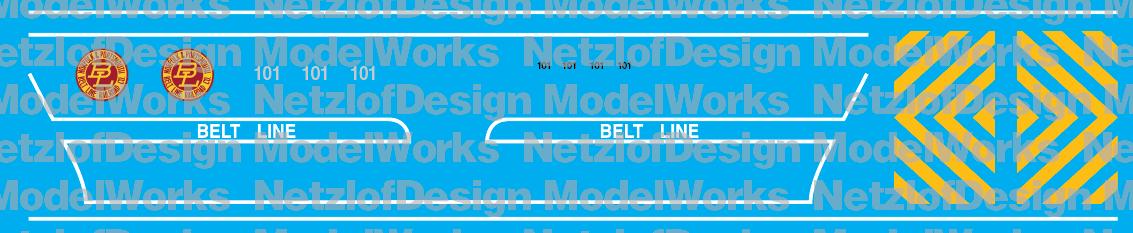 Norfolk & Portsmouth Belt Line SW1200 Bicentennial