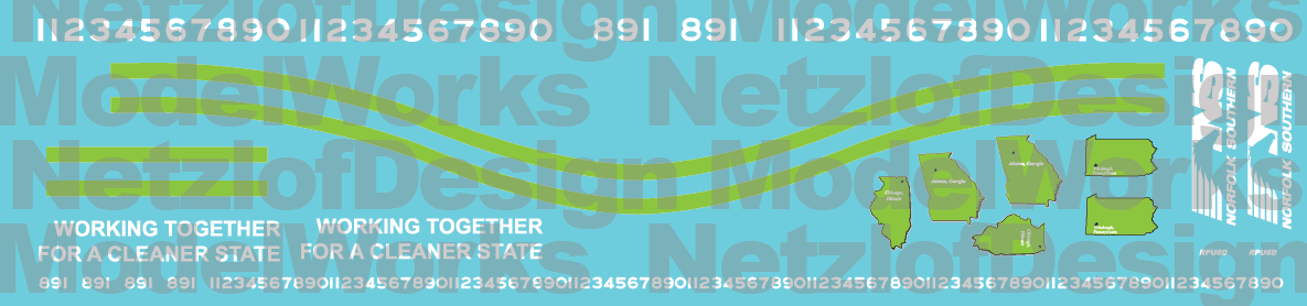 NS RPU6D Decal Set