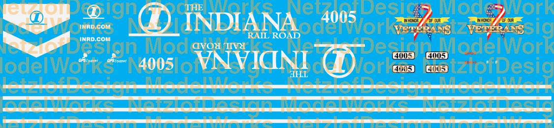 Indiana Railroad #4005 Veterans