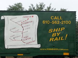 RBMN Ship by Rail Box Car
