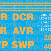 AVR / SWP / DCR Locomotive Decal Set