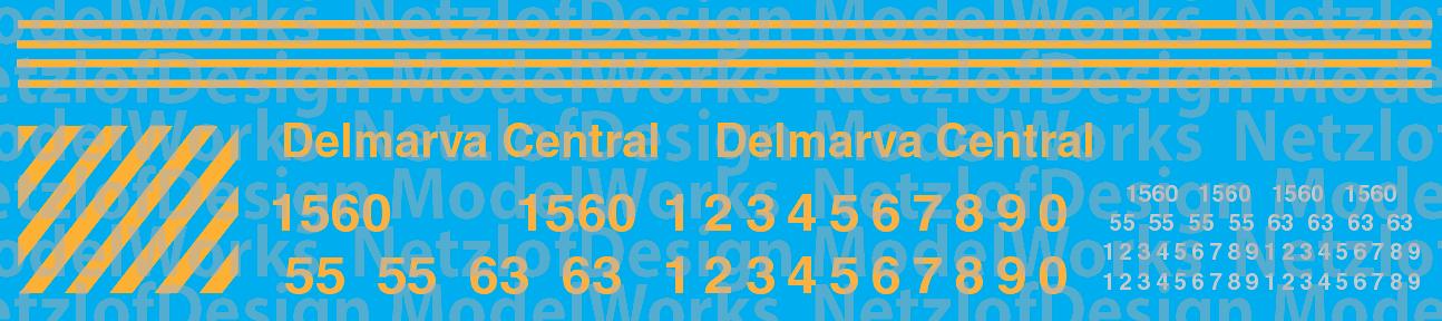 Delmarva Central Railroad Switchers (DCR)