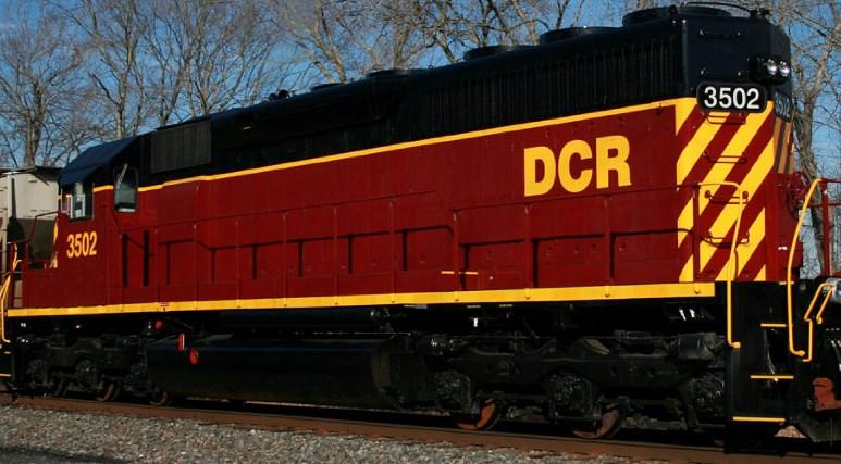 Delmarva Central Railroad Decal Set