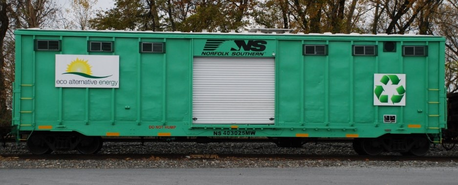 NS Eco Alternative Energy Box Car