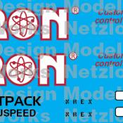 NREX Cattron Demo Unit #638 Decal Set