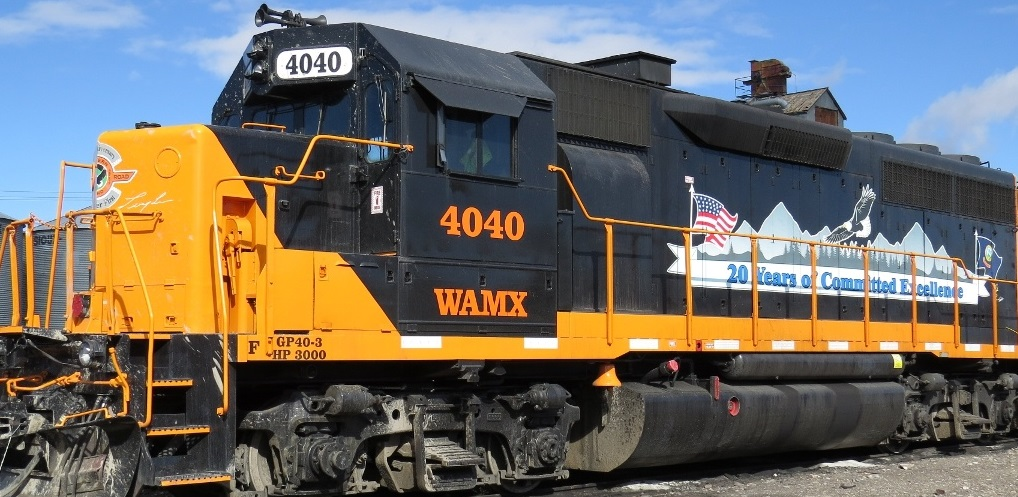 Eastern Idaho Railroad (WAMX) 20th Anniversary GP40s