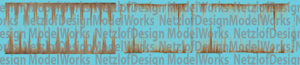 NetzlofDesign Rust Streaks Decal