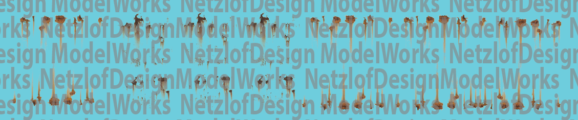 NetzlofDesign Rust Spots Decal