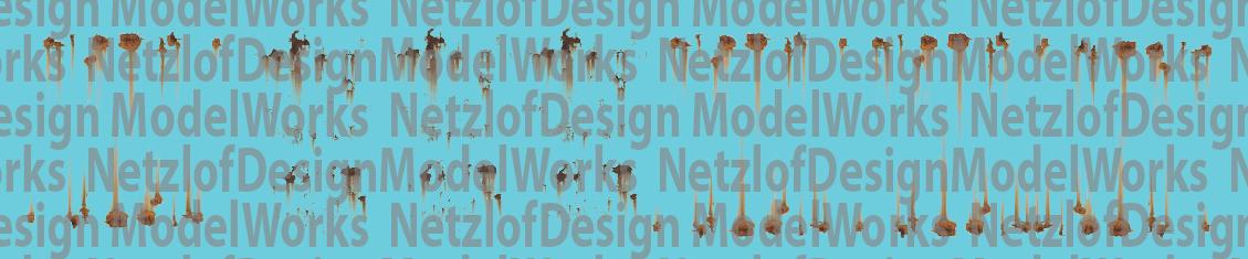 NetzlofDesign Rust Spots Decal