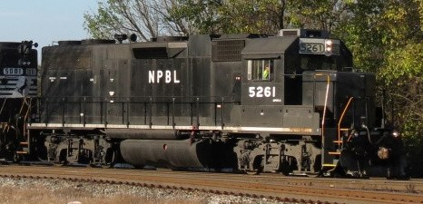 Norfolk Portsmouth Belt Line GP38-2 Patch Out Decals