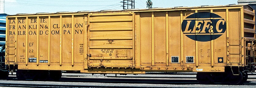 LEF&C Box Car Decals