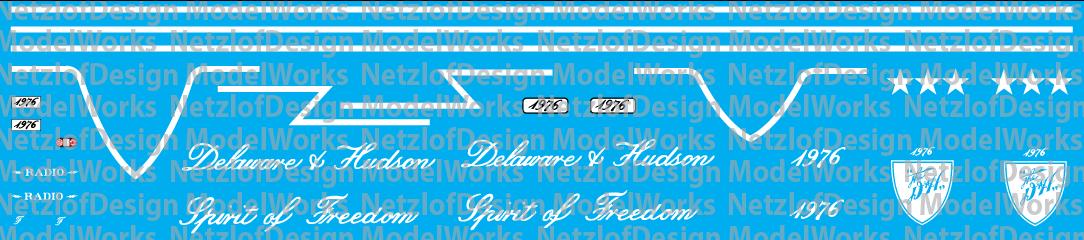 Delaware Hudson RS3U Bicentennial