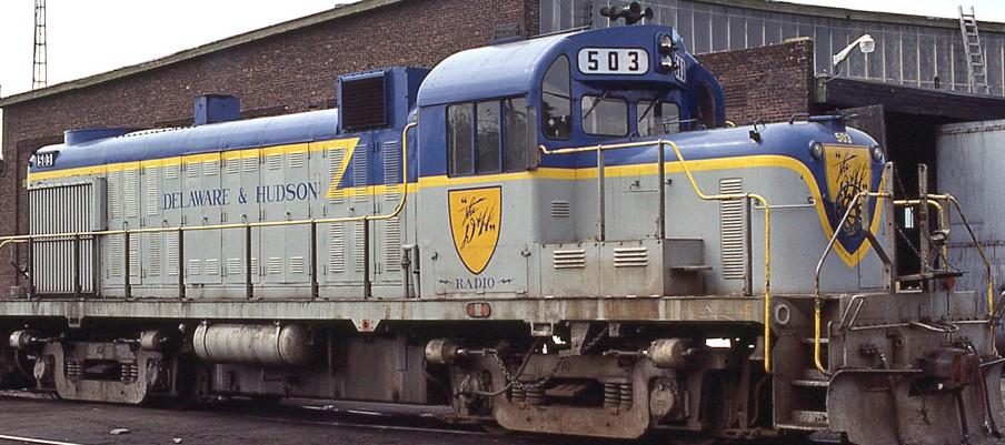 Delaware Hudson RS3U Blue Gray