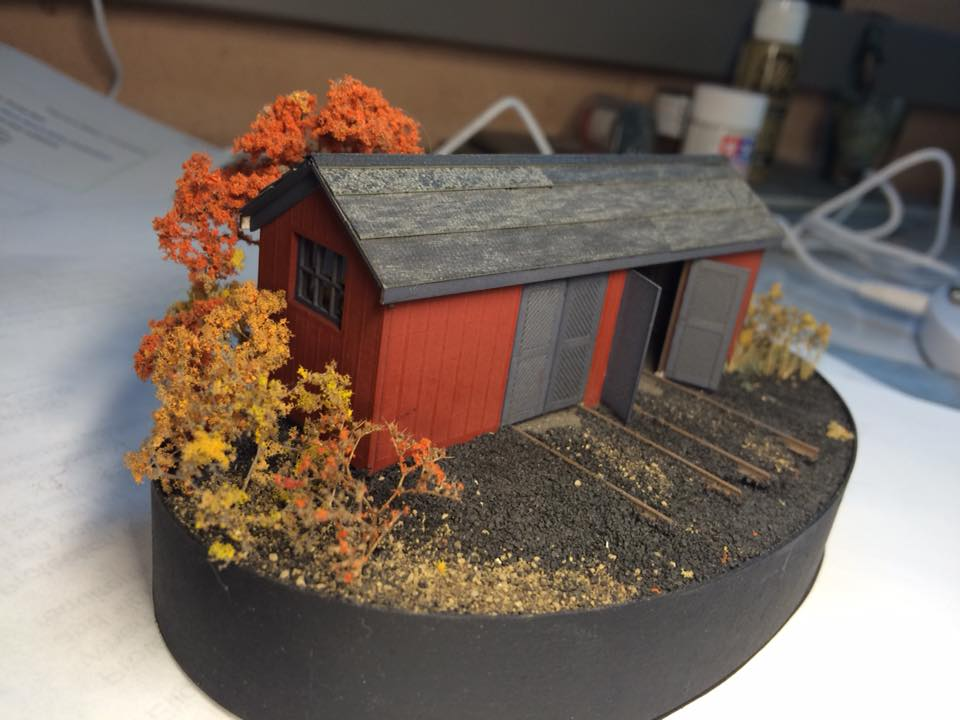 Double Handcar Section House