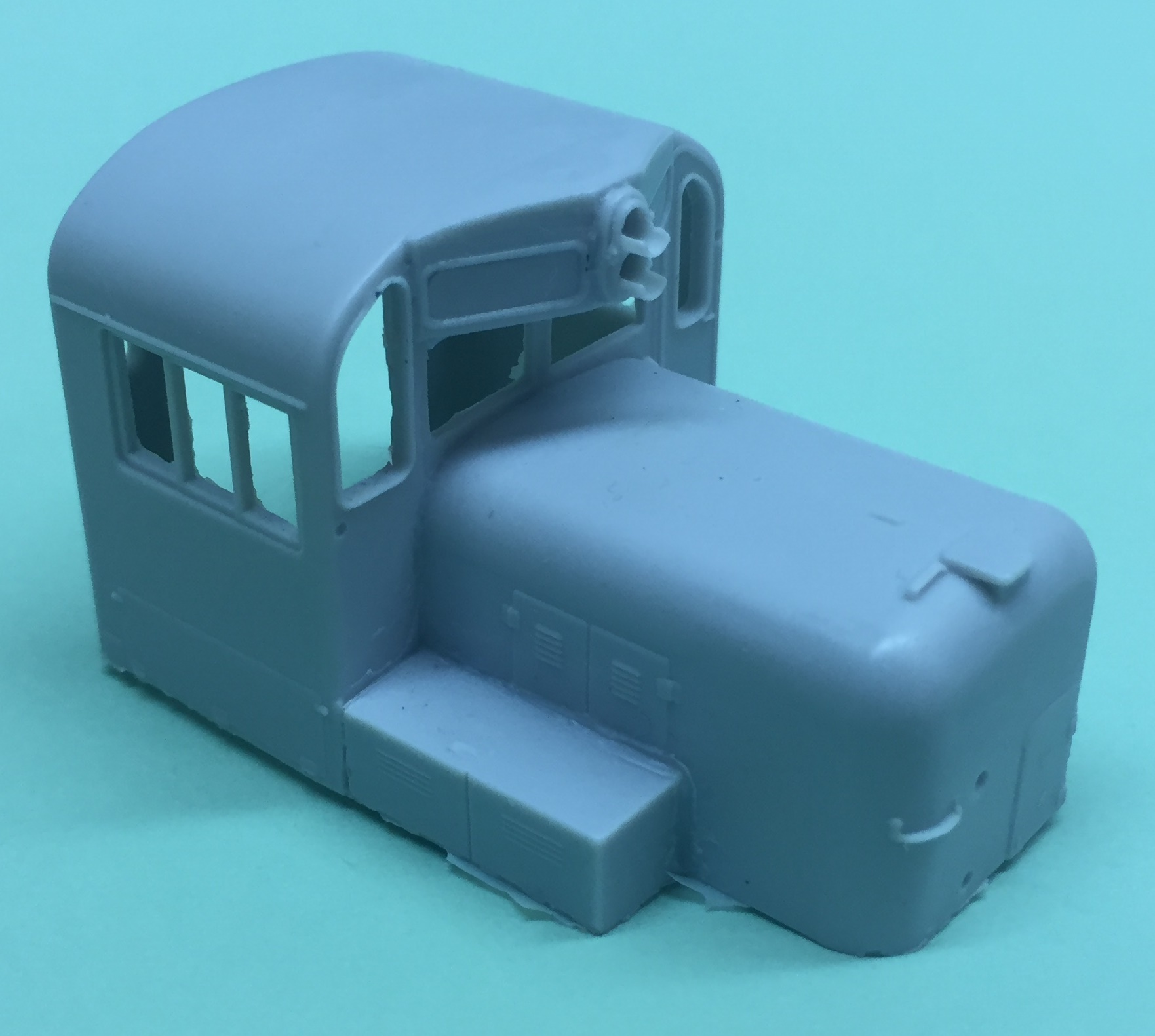 HO Scale RS3 Chop Nose Cab