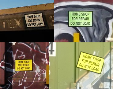 Home Shop for Repair Decals - Mixed