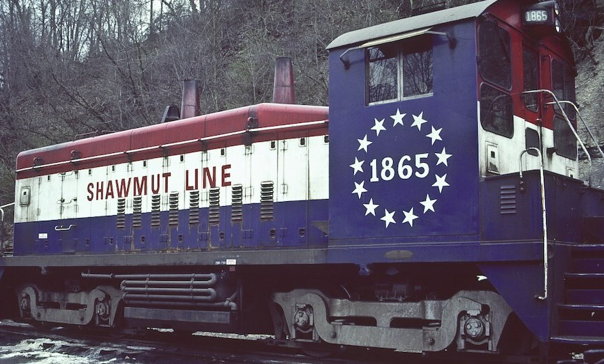 Pittsburg Shawmut Bicentennial Locomotives