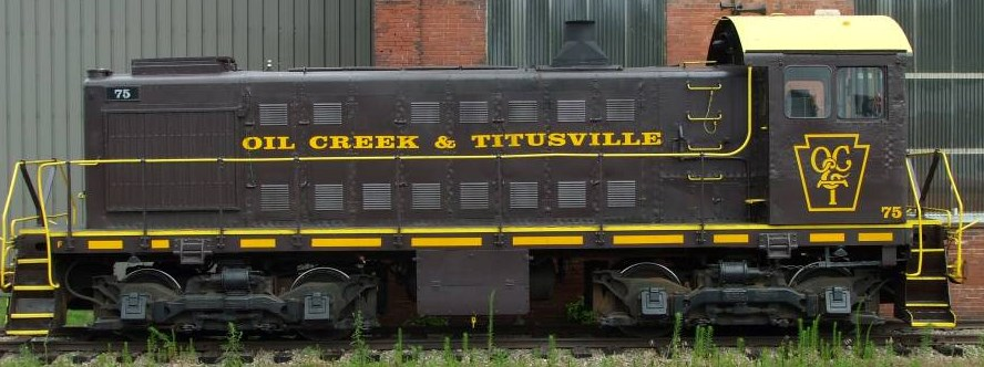 Oil Creek Titusville Locomotive Decals