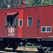 Bessemer and Lake Erie Caboose Decals