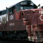 Bessemer & Lake Erie Bicentennial Decal Set
