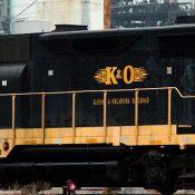 Kansas & Oklahoma Wheat Logo Locomotive Decals