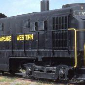 Chesapeake Western Locomotive Decals