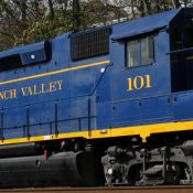 South Branch Valley Locomotive Decals