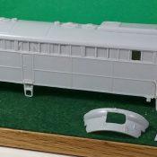 HO Scale Conrail E-8 A Unit Engine Shell