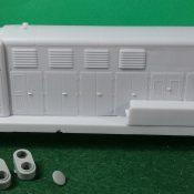 HO Scale Fairbanks Morse H-20-44 Locomotive Shell