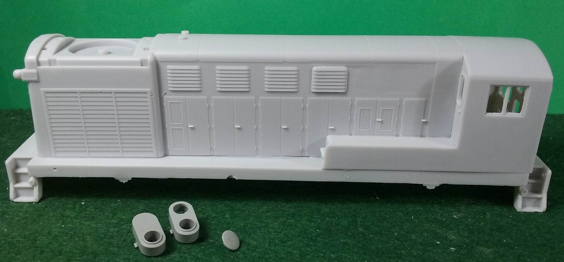 HO Scale Fairbanks Morse H-20-44 Locomotive Shell | CMR Products