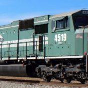 Evansville Western SD70MAC Decals
