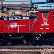 US Steel Mon Valley Works Locomotive Decals
