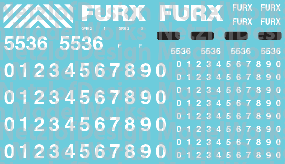 FURX Decal Set