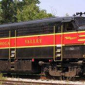 Cuyahoga Valley Scenic Locomotive Decals