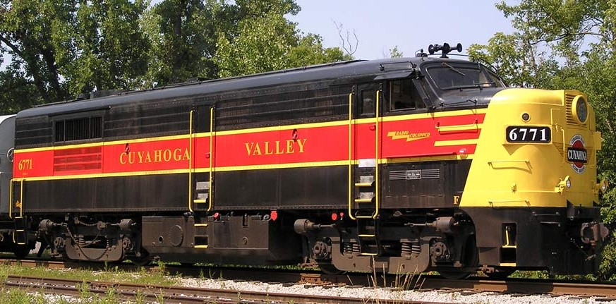 Cuyahoga Valley Loco