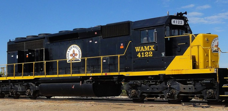 WAMX Set 4 Locomotive
