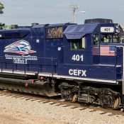 Tennessee Southern Railroad Diesel Locomotive Decal Set
