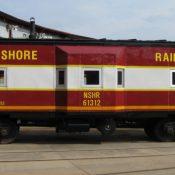 North Shore Railroad (NSHR) Caboose Decals