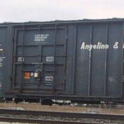 Angelina & Neches River Railroad (A&NR) Box Car