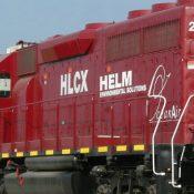 Helm Environmental Services Demo Locomotive Decal Set
