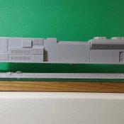 HO Scale SD70 ACE B Unit Locomotive Shell
