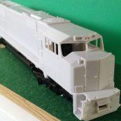HO Scale EMD Norfolk Southern SD70 ACC Locomotive Shell